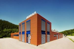 Produktionshalle mit konstanter Innenraumtemperatur